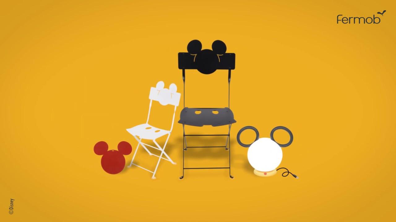 Mickey Fete Ses 90 Ans Avec Fermob Youtube