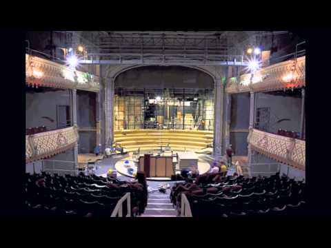 Transforming The Old Vic Into The Round