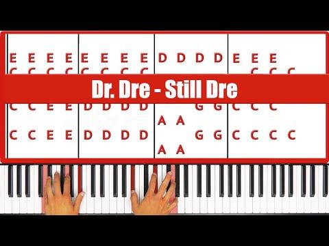 Still Dre Dr Dre Piano Tutorial - EASY