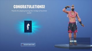 *UNLOCKING* FREE Fortnite Dance Emote 'DEEP END' After Dancing At ALL Beach Party Locations.