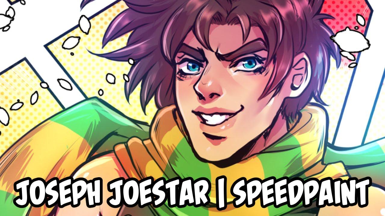 Joseph joestar | Speedpaint by LittleMissBoxie