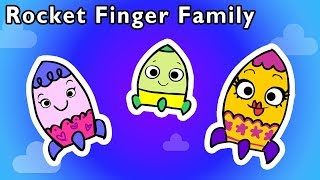 🚀Rocket Finger Family and More | STAR EXPLORER BABY FINGER | Nursery Rhymes from Mother Goose Club!
