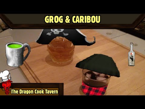 Grog & Caribou - Monkey Island & Sang Froid - [Dragon Cook Tavern]