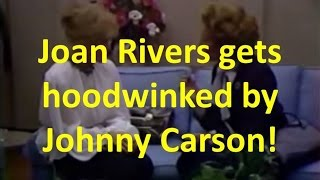 Johnny Carson's Practical Joke on Joan Rivers - Margaret Thatcher Impressionist (about 1983)
