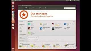 5-Install software (Software Center) - Ubuntu 14.04 Tutorial