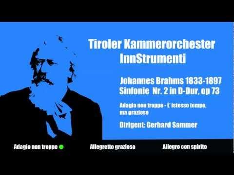 J. Brahms - Adagio non tropo - L'istesso tempo, ma grazioso * Tiroler Kammerorchester InnStrumenti