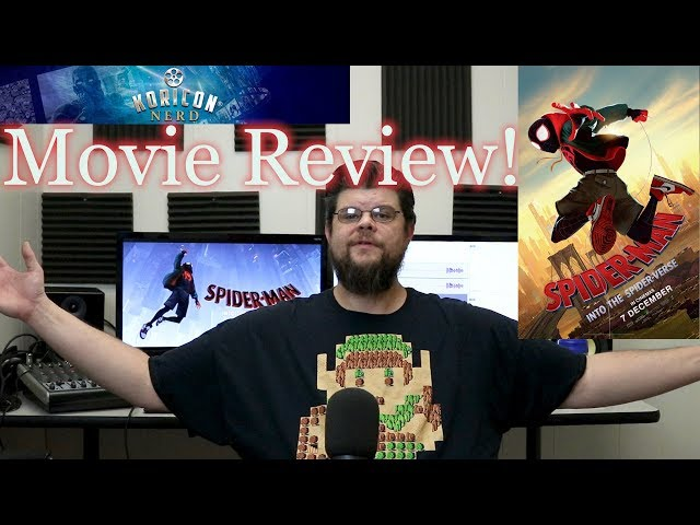 Spider-Man Into the Spider-Verse - Movie Review!