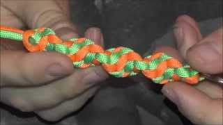 Paracord DNA Keychain (Super easy)