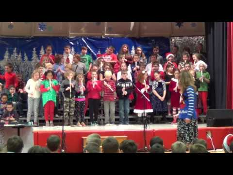 3-5 Winter Concert, Bemus Point Elementary School 2016
