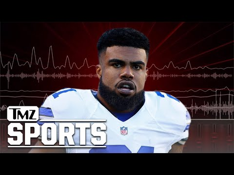 Ezekiel Elliott Accuser to Cops: 'He Busted the Side of my Jaw,' RB Claims She's Lying | TMZ Sports