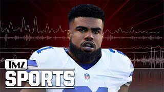 Ezekiel Elliott Accuser to Cops: 'He Busted the Side of my Jaw,' RB Claims She's Lying   TMZ Sports