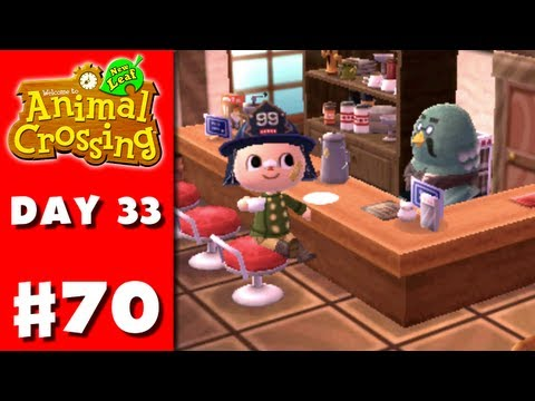 Animal Crossing: New Leaf - Part 70 - Cafe (Nintendo 3DS Gameplay Walkthrough Day 33)