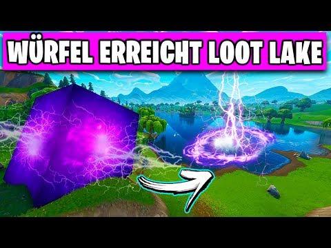 IT BEGINS 😱 Cube ARRIVES in Loot Lake | Fortnite Deutsch German