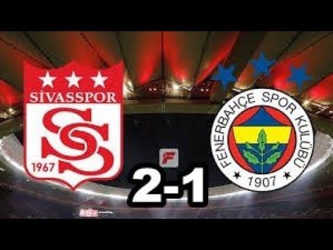 Maç Özeti | Sivasspor - Fenerbahçe 2-1 Cumhuriyet Kupası Maçı