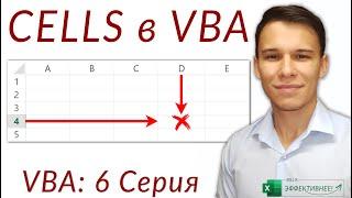 Ячейки в VBA: Как использовать Cells в VBA (Серия VBA 6)