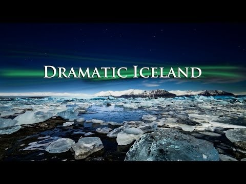 Dramatic Aurora Borealis Iceland Time Lapse of a Winter Fairytale [HD]
