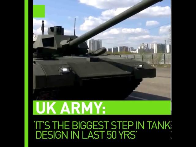 British military intelligence hails Russia's Armata tank as revolutionary - leaked internal paper
