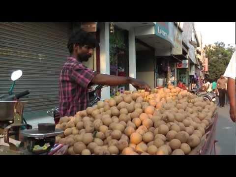 Triplicane on the street, Chennai  - India