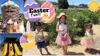 Easter fun! Underwood Family Farm | Vlog
