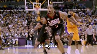 Could Kobe Bryant LOCK up Allen Iverson after studying sharks hunting seals - here is THE ANSWER! thumbnail