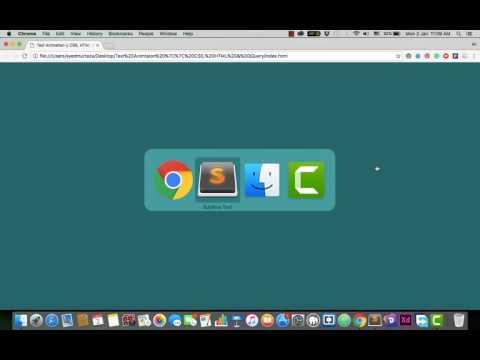 Simple Text Animation    CSS, HTML & JQuery   Codingle