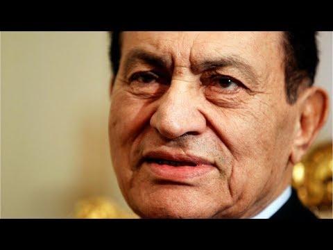 Умер бывший президент Египта Хосни Мубарак