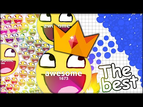 THE BEST AGARIAN!! WORLD RECORD PLAYER :D BEST AGARIO HUNGER GAMES IN THE UNIVERSE (Agar.io #129)