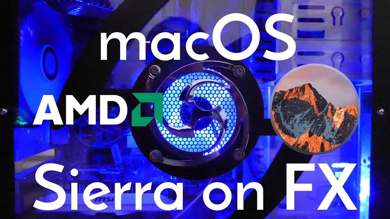 Installing macOS Sierra on a AMD PC
