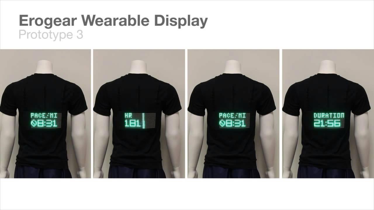 Social Fabric Fitness Wearable E Textile Youtube