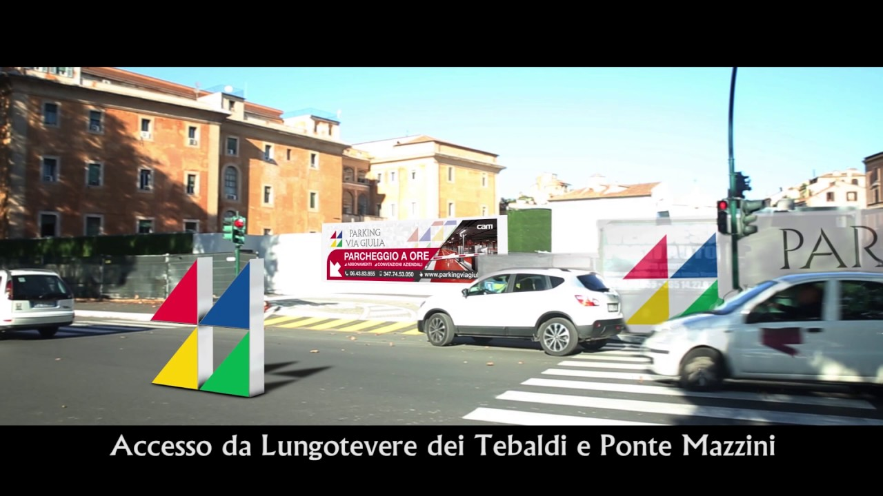 Spot Video Parking Via Giulia A Roma