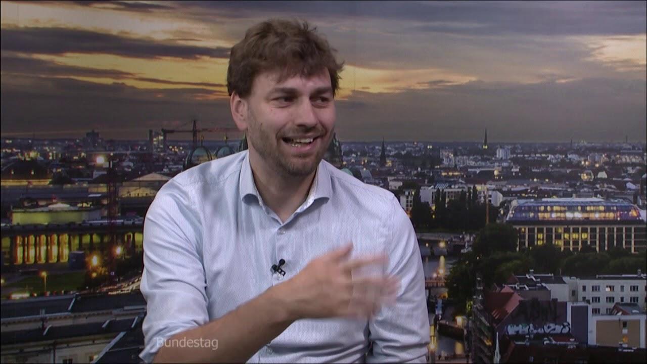Aus dem Bundestag - Interview bei TV Berlin mit Dr. Peter Brinkmann