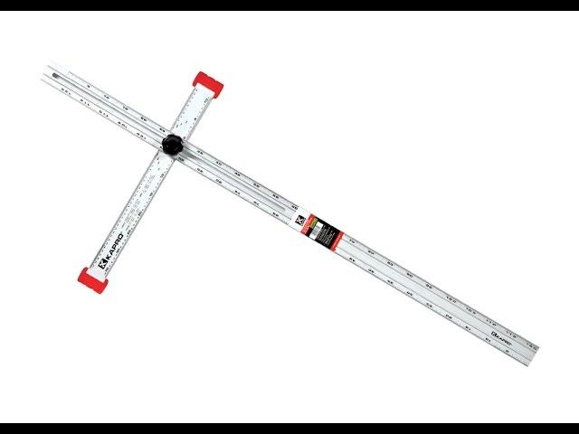 317 Adjustable Drywall T-Square 48″ (120cm)