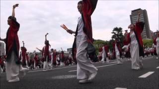 フラワーフェスティバル・きんさいYOSAKOIのパレードの部。新星☆ゆずり...