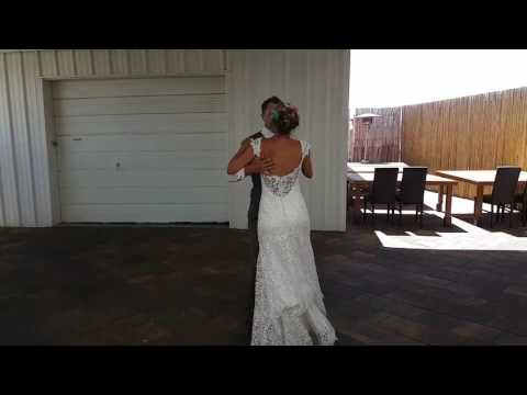 James and Louise Whewell first dance!