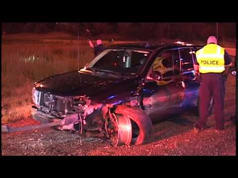 I-94 Calumet City,IL Police-High Speed Pursuit Ends in Crash in Chicago on  I-94 @130th
