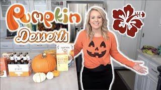 Pumpkin Dessert Trader Joes Haul: Part 2