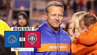 No. 25 Boise State vs. New Mexico Football Highlights (2018) | Stadium
