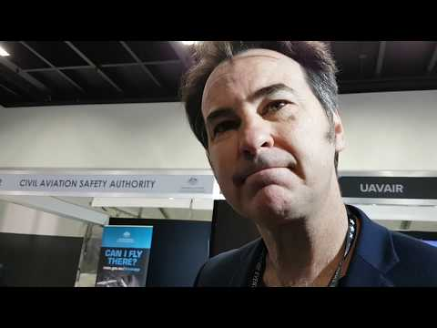 Peter Orehov of CDA Pro Audio with the Aaton Cantar Mini at SMPTE17