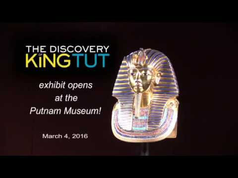 Discover King Tut at the Putnam Museum!