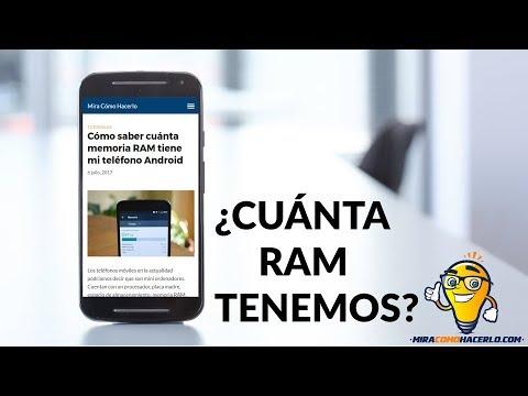Cómo Saber Cuánta Memoria RAM Tiene MI Teléfono Android