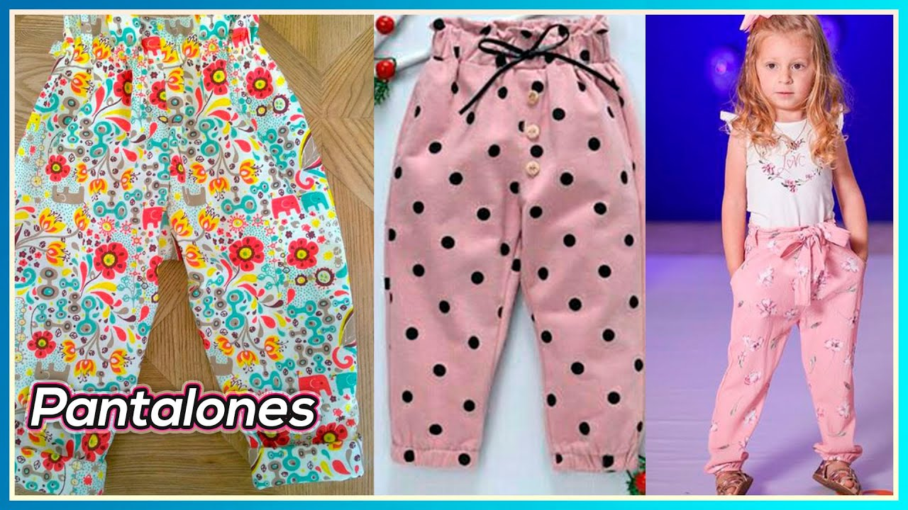 Pantalones Para Ninas Super Hermosos Youtube