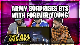 BTS Army Sing Young Forever @ Speak Yourself Wembley London Concert | REACTION | Ol Dirty Brownies