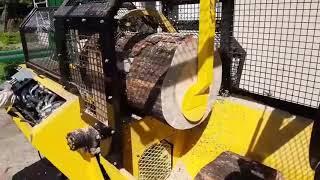 Piło-Łuparka hydrauliczna do drewna - piło łuparka - kombajn