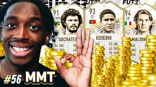 SPENDING 11 MILLION COINS!!! EUSEBIO JOINS UP!!! 💰💲🤑 S2- MMT #56