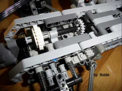 lego technic rc car 4x4 two speed gearbox by solde youtube. Black Bedroom Furniture Sets. Home Design Ideas