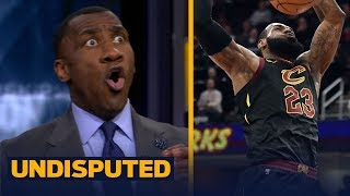 Shannon Sharpe reacts to LeBron's 40-pt triple-double night in win over Milwaukee | UNDISPUTED