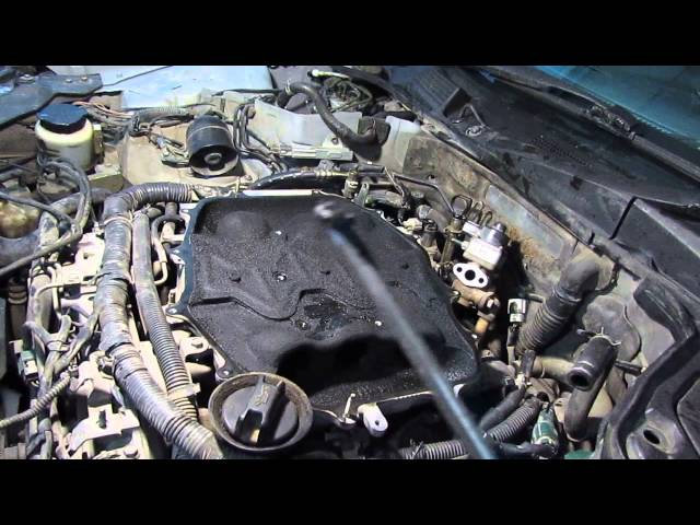 Фото к видео: Чистка инжектора QR20DD