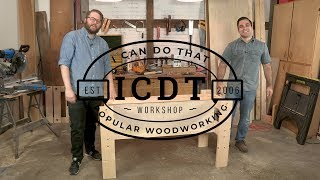 How to Build a Torsion Box Workbench - Part 1 | I Can Do That!
