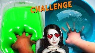 ПОПРОБУЙ НЕ ЗАЛИПНУТЬ CHALLENGE! Самое залипательное видео в мире Челленж Slime Слайм Вызов принят