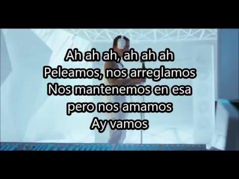 J Balvin Ay Vamos Letra Youtube